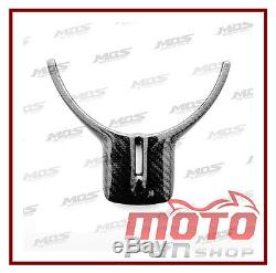 MOTOfunSHOP Toyota 86 GT86 SCION FR-S Carbon Fiber Steering Wheel Cover Trim