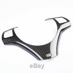 M Sport Package Carbon Steering Wheel Trim Cover For BMW E90 E91 E92 E93 M3