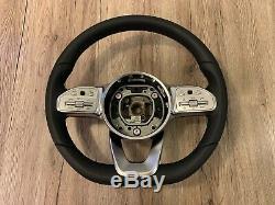 Mercedes A C E CLS G W177 W205 W213 W238 W257 OEM AMG Steering Wheel DISTRONIC