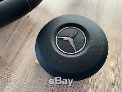 Mercedes A C E CLS G W177 W205 W213 W238 W257 W463 OEM AMG Pack Steering Wheel