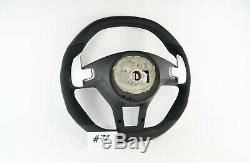 Mercedes Benz A B C E Class W204 C63 W246 W212 W176 Alcantara Steering Wheel #77