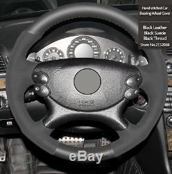 Mercedes Benz CLS CLK E 63 AMG MODELS ONLY ALCANTARA STEERING WHEEL COVER