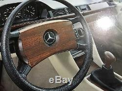 Mercedes Benz W123, W124 & W126 OBA Steering Cover, Real Handmade Wooden Cover