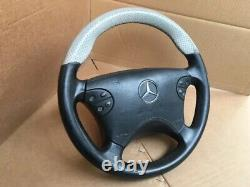 Mercedes-Benz W210 E55 W208 AMG Nardi Sport Steering wheel Perforated Leather