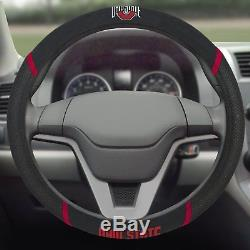 NCAA Ohio State Buckeyes Car Truck Seat Covers Floor Mats Steering Wheel Cover