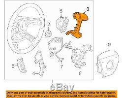 NEW OEM GM Steering Wheel Trim Cover Right 15255057 Silverado Sierra 2007-2013