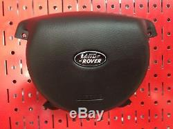 NEW! Range Rover L322 Steering Wheel Cover Black