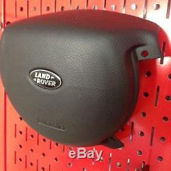 NEW! Range Rover L322 Steering Wheel Cover Black