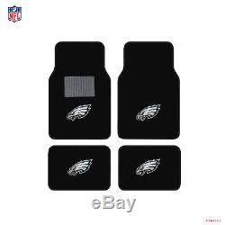 NFL Philadelphia Eagles Car Truck Floor Mats Seat Covers Steering Wheel Cover