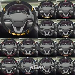 NHL Teams Embroidered Steering Wheel Cover