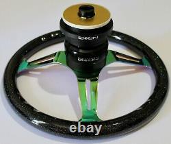 NRG Steering Wheel Short Hub Adapter Quick Release BSB Honda Civic EK EX FIT EK
