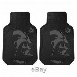 New 8pcs Star Wars Darth Vader Car Truck Floor Mats Steering Wheel Cover Set