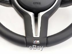 New BMW M5 M6 Heated Steering Wheel with Vibration Motor & Shift Paddles F10