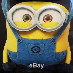 New Despicable Me Minions Car Seat Covers Floor Mat Steering Wheel Cover Set