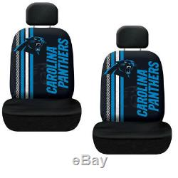 New NFL Carolina Panthers Car Truck Floor Mats Seat Covers Steering Wheel Cover