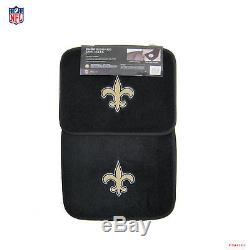 New NFL New Orleans Saints Car Truck Floor Mats Seat Covers Steering Wheel Cover