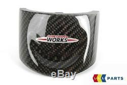 New Oem Mini Jcw Carbon Fiber Trim Cover For Sports Steering Wheel Lower Part