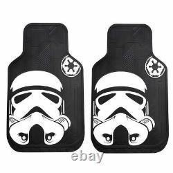New Star Wars Stormtrooper Car Seat Covers Floor Mats Steering Wheel Gift