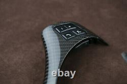 OEM BMW steering wheel M trim Genuine carbon E90 E91 E92 E93 E82 E81 E87 E88 E83