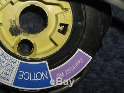 OEM GM 6-wire Air Bag Clockspring P/N 26049661 Buick Olds Pontiac Chevy Cadillac