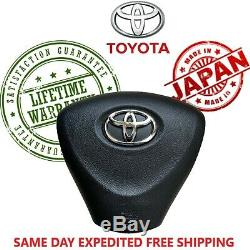 OEM Toyota New Steering Wheel Horn Cover With Logo For 2009-2013 Toyota Corolla