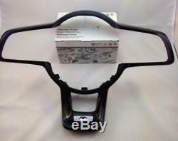 OEM VW Volkswagen Golf MK 7 R Steering Wheel Clip Cover Badge Black