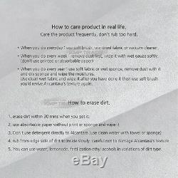 Organic Alcantara D. I. Y Steering Wheel Handle Cover For BMW 2010-16 5 Series F10