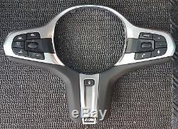 Original BMW M5 G30 G31 G32 G01 Multifunction button set +M steering wheel cover