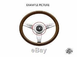 Original Nardi Torino Hupenknopf Sportlenkrad Nabe Cover Push Button Horn Neu