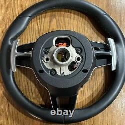 PORSCHE Cayenne 958 MACAN 95B 991 997 911 HEATED Steering Wheel Leather SRS