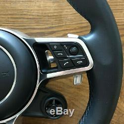 PORSCHE Panamera 971 SPORT PDK Steering Wheel Lenkrad OEM HEATING BOOST AIRBAG