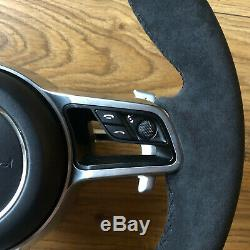 Porsche Alcantara Steering Wheel Macan 911 Carrera Cayenne Airbag HEATING HEATED