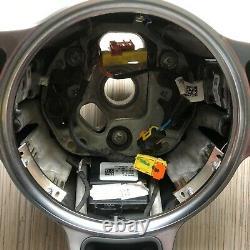 Porsche Macan 911 Carrera Cayenne 17 Alcantara Steering Wheel BLACK with PDK