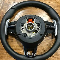Porsche Macan 911 Carrera Cayenne GTS Cayman TURBO Steering Wheel+Airbag BLACK