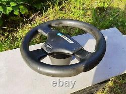 RARE! RAID KBA 70155 Leather Sport Steering wheel Lenkrad with VW Hub