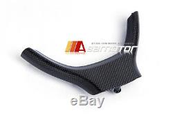 REPLACEMENT CARBON FIBER STEERING WHEEL COVER for BMW F10 F11 F07 M SPORT M5