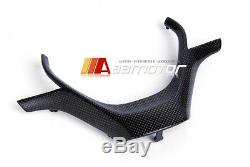 REPLACEMENT CARBON FIBER STEERING WHEEL COVER for BMW F30 F31 3-SERIES