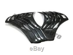 RealCarbon fiber steering wheel trims for BMW 1 3 series E87 E82 E88 E90 E92 E93