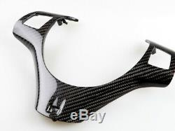 Real Carbon Steering Wheel Cover For BMW 3 Series E90 E92 E93 M3