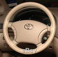 SAND Genuine Leather Steering Wheel Cover for Ford Wheelskins Size AXX