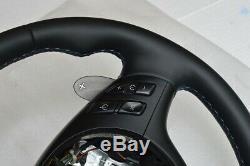STEERING WHEEL BMW SMG PADDLE M3 M5 E39 M5 E46 M3 M-stitch ZHP NEW