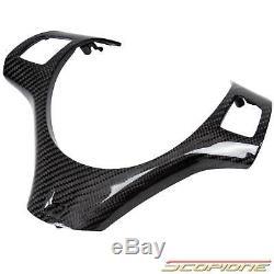 Scopione Carbon Fiber Steering Wheel Cover for 08-13 BMW 1 3 Series M3 1M E90/92