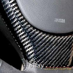 Scopione GLOSSY Carbon Fiber Steering Wheel Cover for 11-16 BMW 5 Series F10