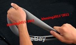 Skidproof Odorless Soft Silicon Universal Auto Steering Wheel Cover sedan Gray