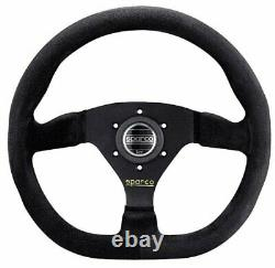 Sparco 015TRGS1TUV L360 Street Steering Wheel Suede Cover 330 mm Dia Universal