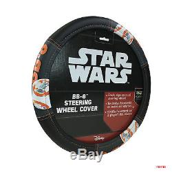 Star Wars BB8 Car Truck Front Rear Floor Mats Seat Covers & Steering Wheel Cover