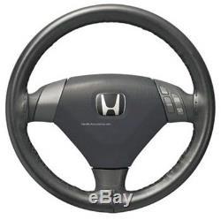 Steering Wheel Cover-Black Leather HONDA OEM 08U98SDA100