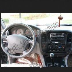 Steering Wheel Cover Peach wood grain For Toyota Land Cruiser LC100 4700 98-02