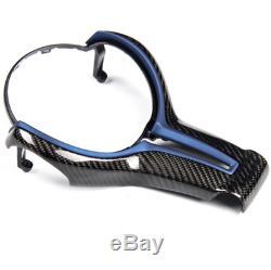 Steering Wheel Cover Trim For BMW M2 F87 M3 F80 M4 F82 M6 F06 F12 X5M X6M KAA