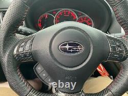 Steering Wheel Trim Control Button Cover for Subaru IMPREZA WRX STI 2008-2014 CF